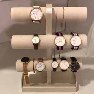 Daniel Wellington and other brand name watches